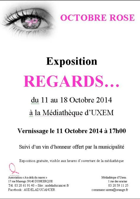 Exposition REGARDS - Octobre Rose 2014