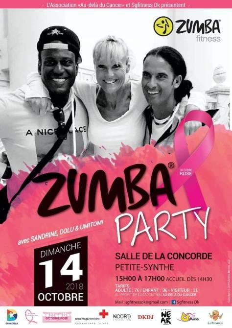 2018 zumba party